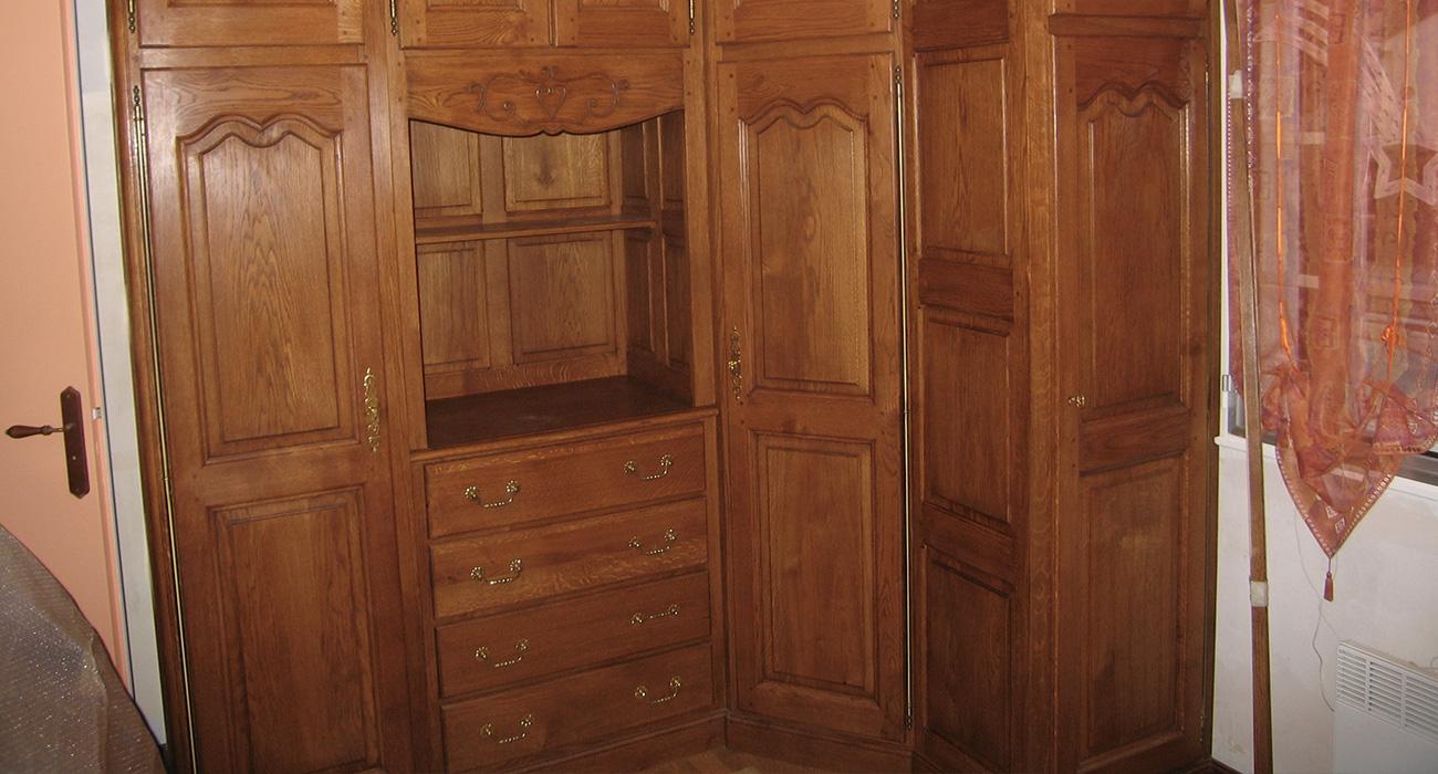 Chambre A Coucher En Chene Massif Art Deco Nous Alain