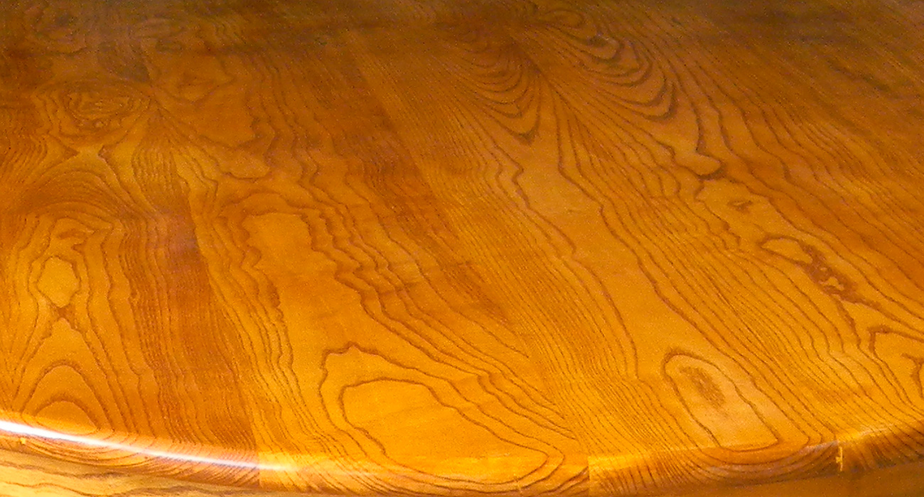 Table en frêne massif - Atelier Alain Maury - Villemandeur